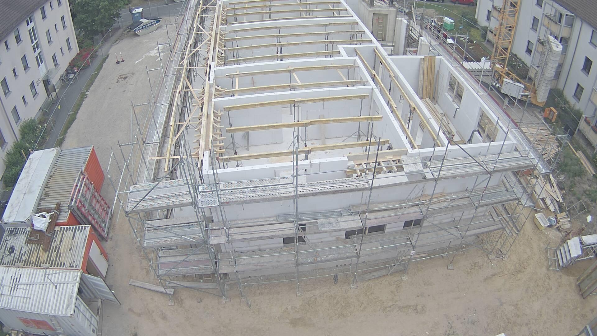 Bild vom Bauplatz